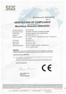 RA201980009C-Machinery Directive 2006 42 EC